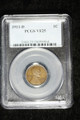 1911 D WHEAT LINCOLN CENT PENNY COIN PCGS VF25 #98964