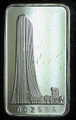 1oz .999 FINE SILVER BAR (FIRST NATIONAL BANK) FIRST NATIONAL BANK OF CHICAGO