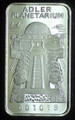 1oz .999 FINE SILVER BAR (ADLER PLANETARIUM) FIRST NATIONAL BANK OF CHICAGO