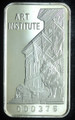 1oz .999 FINE SILVER BAR (ART INSTITUTE) FIRST NATIONAL BANK OF CHICAGO