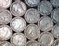 ROLL OF BUFFALO NICKELS: 2 DIGIT DATE