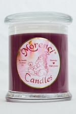 A rich buttery vanilla & leather with a splash of cinnamon. (Color-Mauve Pink)
