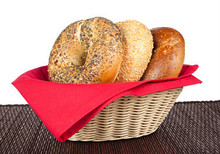 Fresh Bagel Basket Delivered