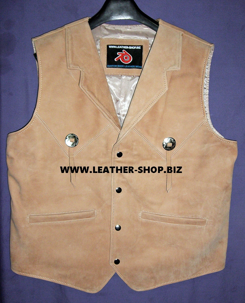 mens-leather-vest-western-style-mlv90-tan-color-suede-shown-www.leather-shop.biz-front-pic.jpg