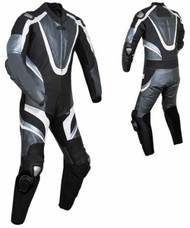 Leather racing suit custom made - style MS676