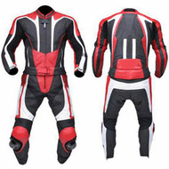 Leather racing suit custom made - style MS333