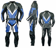 Leather racing suit custom made - style MS2054