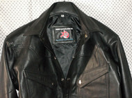 LS037 leather shirt WWW.LEATHER-SHOP.BIZ label pic