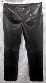 Leather Pants Jeans Style MLP1140 WWW.LEATHER-SHOP.BIZ front pic