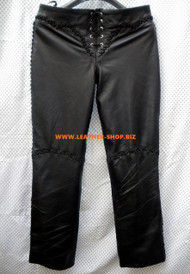 Womens Lambskin Leather Pants WLP222