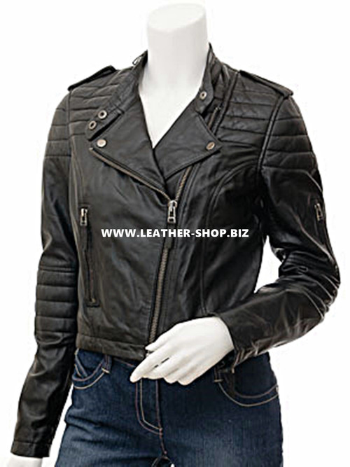 Leather Jacket Custom Made Motorcycle Style LLJ619 WWW.LEATHER ...