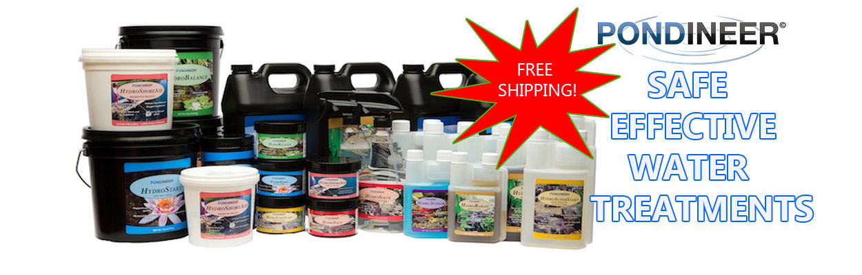 Pondineer safe effective water treatments with freeshipping
