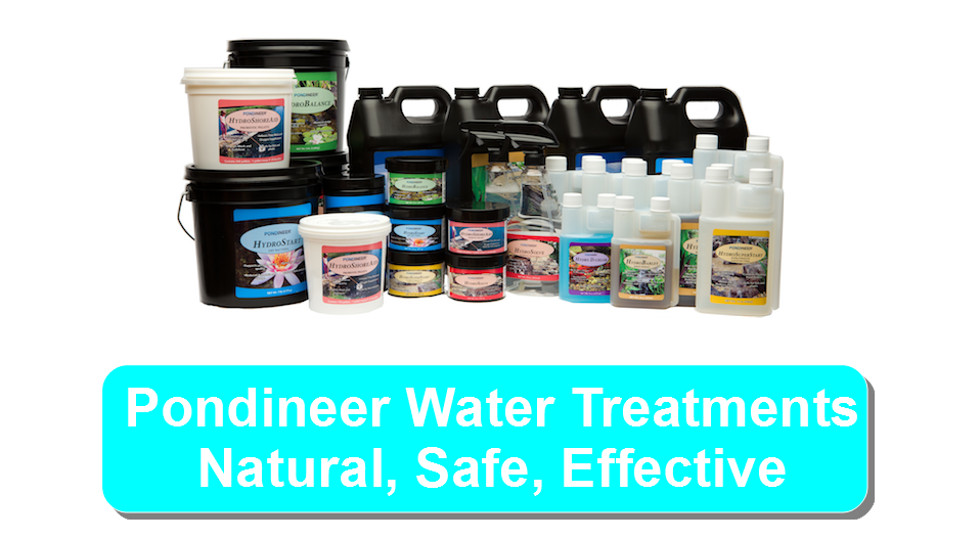 pondineer water treatments