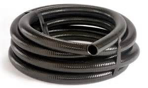 "Black PVC Flex Pipe - 1 1/2"" x 100' Roll"