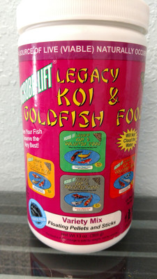 Legacy Koi & GoldFish Fish Food - Microbe-Lift - Variety Mix