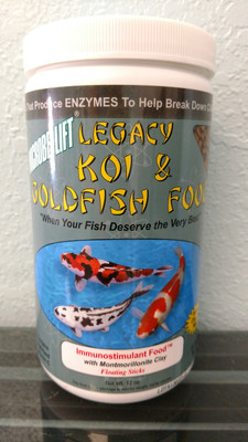 Legacy Koi & Goldfish Fish Food - Immunostimulant Food with Montmorillonite Clay