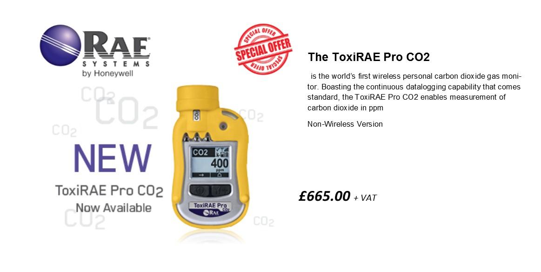 RAE Toxirae Pro CO2