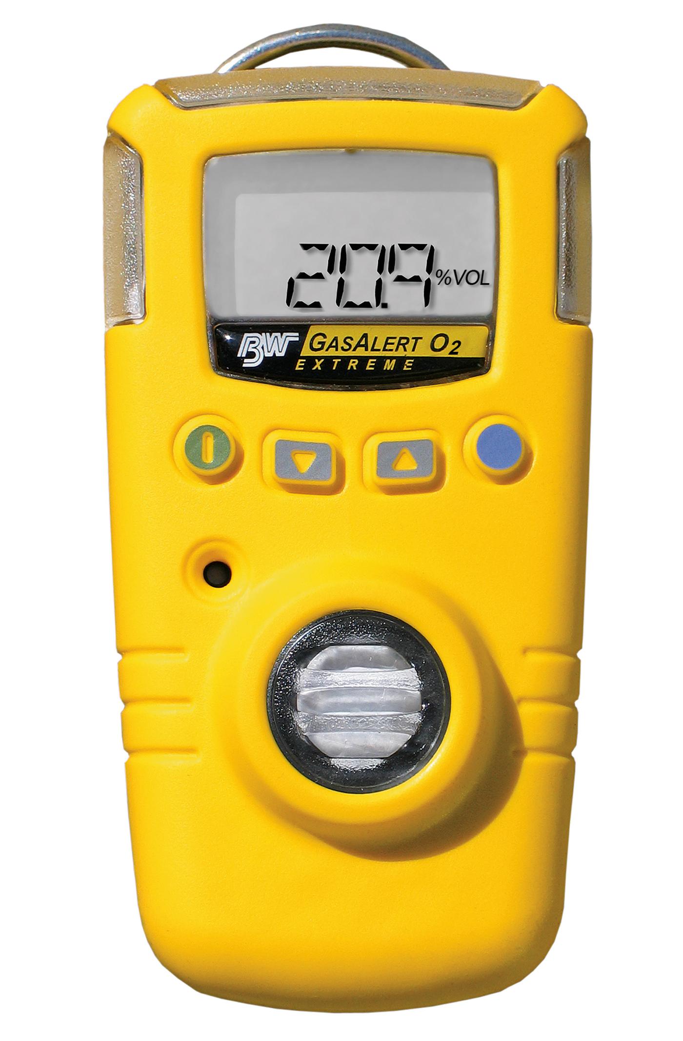 BW Gas Alert Extreme Portable Single Gas Detector