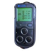 Front view of GMI PS200 Multigas detector|Point Safety