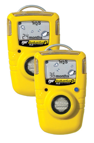 Gas Alert Clip Extreme 2 - Oxygen O2 - BW Technologies Portable Single Gas Detector