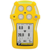 BW Gas Alert Quattro multi 4 personal gas detector - front view