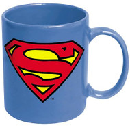 Superman Logo Blue Coffee Mug