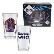 Doctor Who Anniversary Fourth Doctor 16 oz. Glass Set of 2