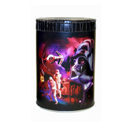 Star Wars Darth Vader Round Tin Coin Can Bank