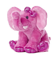 Girlz Nation Pink Elephant 10-Inch Plush