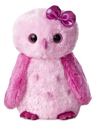 Girlz Nation Pink Snowy Owl 11.5-Inch Plush