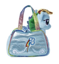 My Little Pony Rainbow Dash Cutie Mark Carrier with 6.5-Inch Plush
