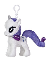My Little Pony Rarity 4.5-Inch Clip-On Plush