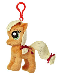 My Little Pony Applejack 4.5-Inch Clip-On Plush
