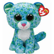 TY Beanie Boos Leona the Blue Leopard 6-Inch Plush