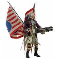 BioShock Infinite Benjamin Franklin Heavy Hitter Patriot Turret Figure