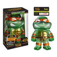 Teenage Mutant Ninja Turtles Clear Michelangelo Hikari Sofubi Vinyl Figure