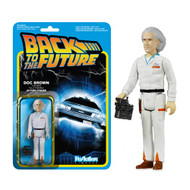 Back to the Future Doc Emmett Brown ReAction 3 3/4-Inch Retro Action Figure