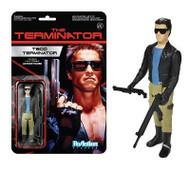 Terminator T-800 Leather Jacket ReAction 3 3/4-Inch Retro Action Figure