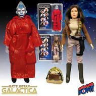 Battlestar Galactica Lucifer and Lt. Athena Action Figures