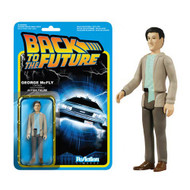 Back to the Future George McFly ReAction 3 3/4-Inch Retro Figure