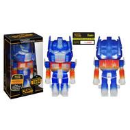 Transformers Optimus Prime Clear Glitter Hikari Sofubi Vinyl Figure