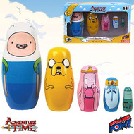 Adventure Time Wood Nesting Dolls Set of 5