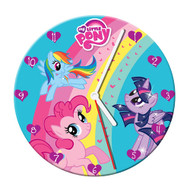 My Little Pony 13 1/2-Inch Cordless Wood Wall Clock