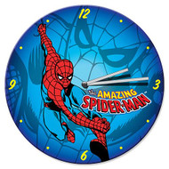Spider-Man Wood Wall Clock