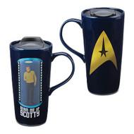 Star Trek Beam Me Up Scotty 20 oz. Heat Reactive Ceramic Travel Mug