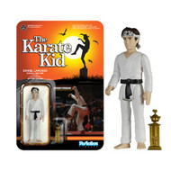 PRE-ORDER: Karate Kid Karate Daniel Larusso ReAction 3 3/4-Inch Retro Action Figure