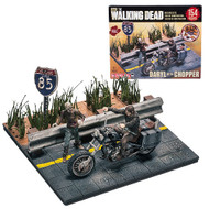 The Walking Dead Daryl Dixon with Chopper Mini-Figure Building Set