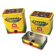 Crayola Crayon Tin with Detachable Sharpener