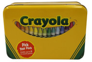 Crayola Crayon Small Storage Tin Box