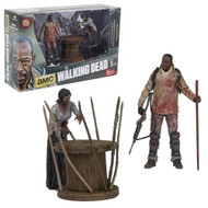 The Walking Dead TV Series Morgan and Impaled Walker Figure Box Set